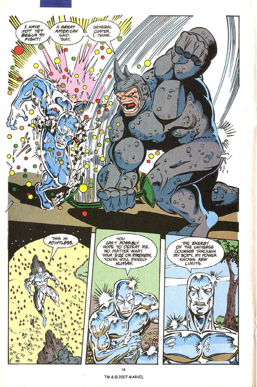 Read online Silver Surfer (1987) comic -  Issue #54 - 18