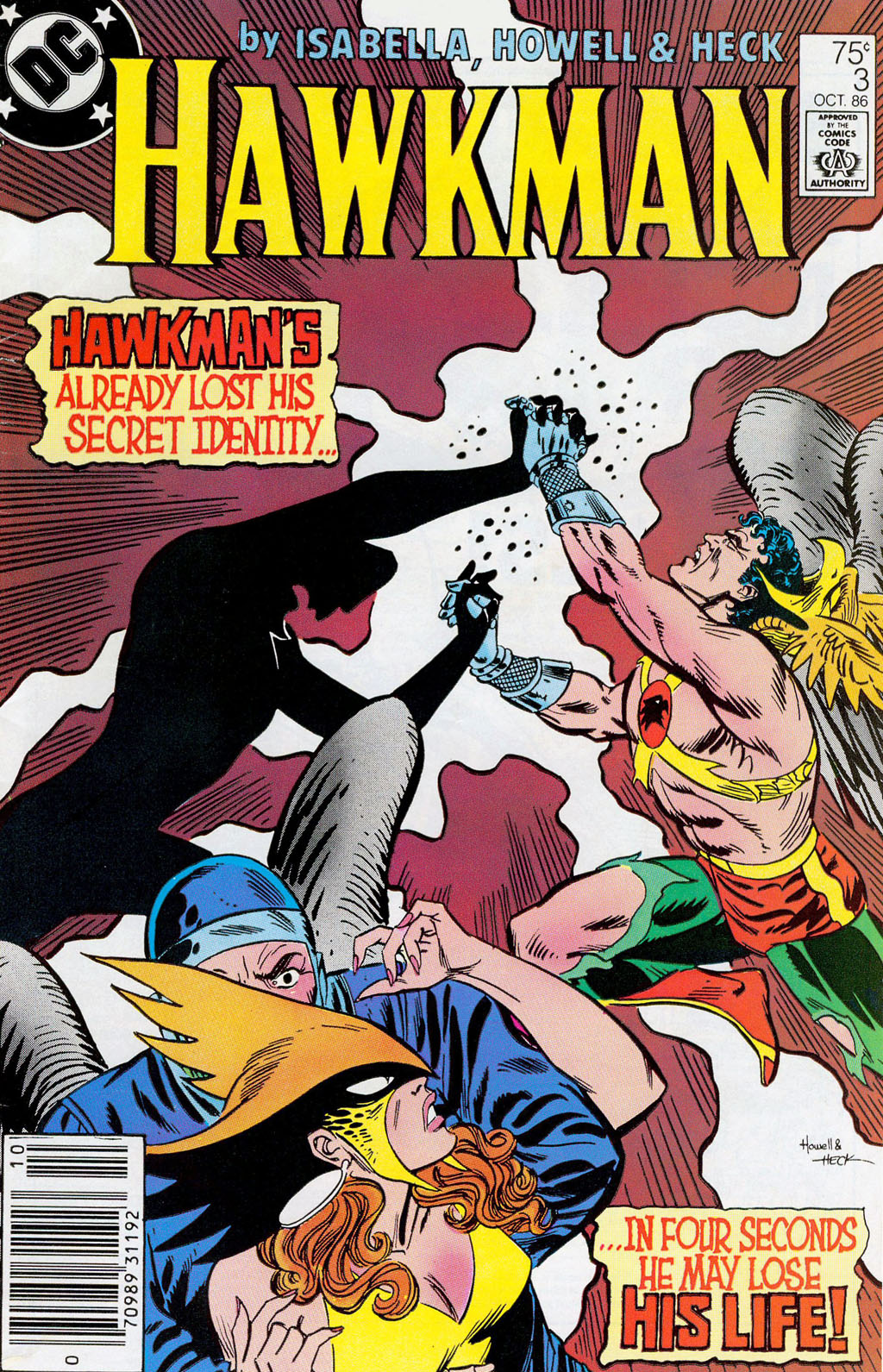 Hawkman (1986) Issue #3 #3 - English 2
