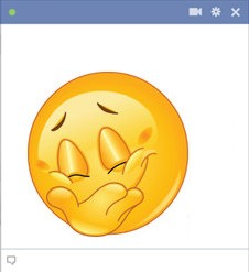 Grin facebook smiley