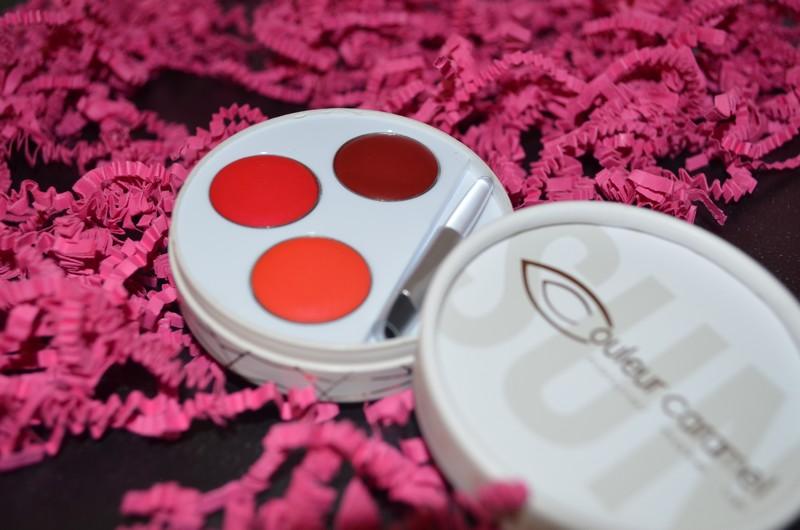 Palette 3 Rouges à lèvres COULEUR CARAMEL