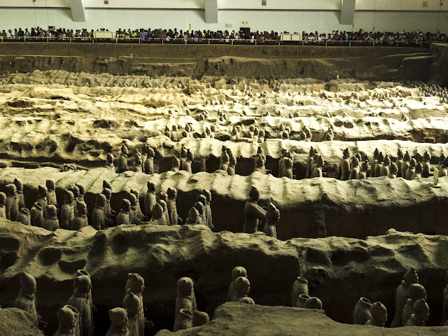 Terracotta Army Pit 1 near Xi'an China