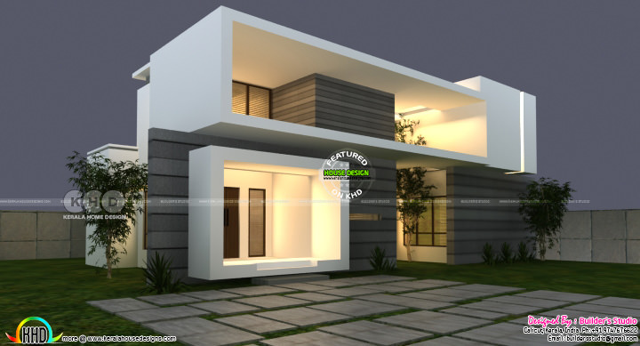 July 2020 Kerala home design and floor plans