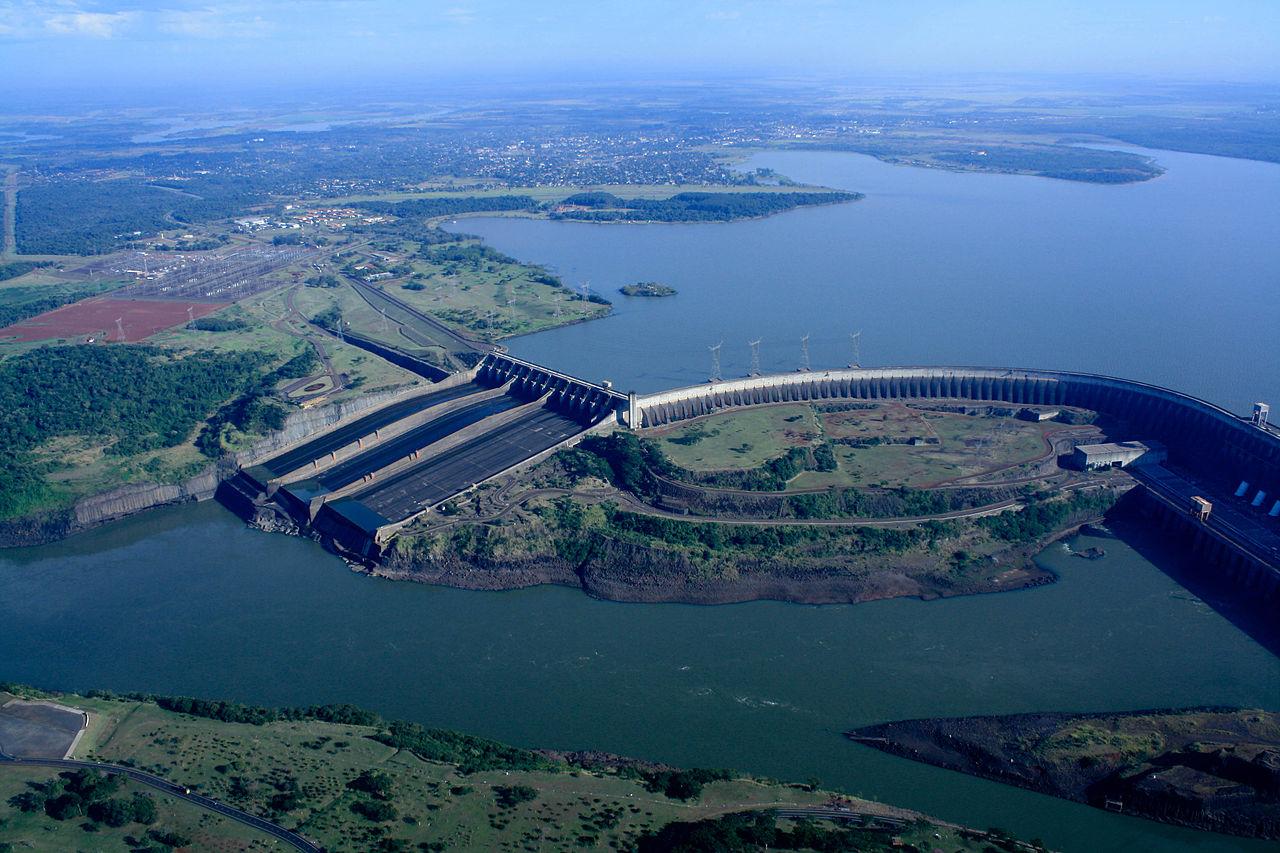 Usina Hidrelétrica de Itaipu. Foto: International Hydropower Association