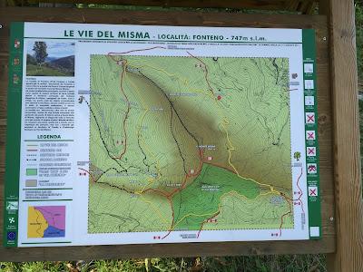 Le vie del Misma trails