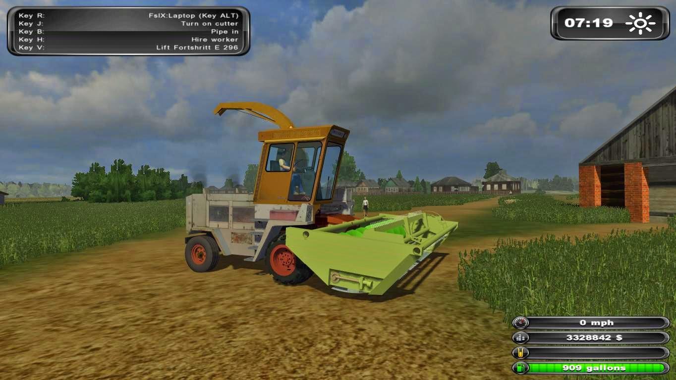 Моды для farmingsimulator2011