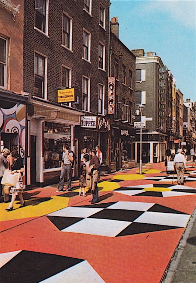 Topper Shoes 45 Carnaby Street 1970s London