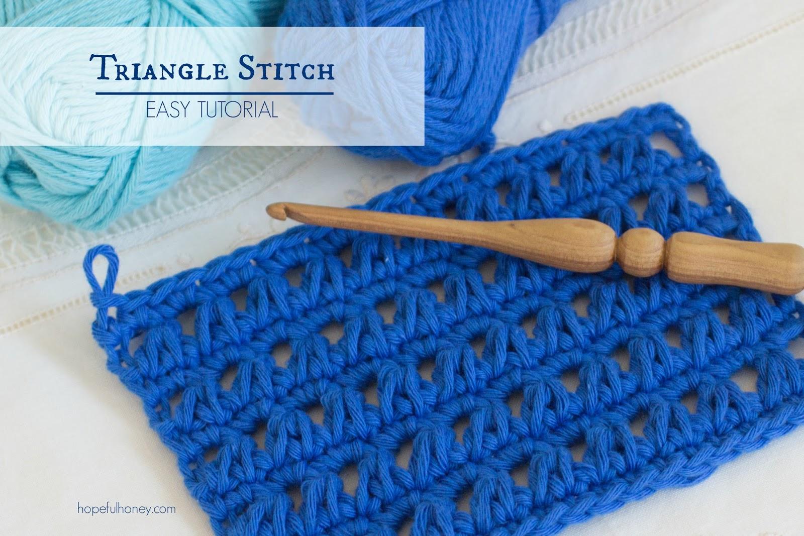 Hopeful Honey Craft, Crochet, Create: How To: Crochet ...