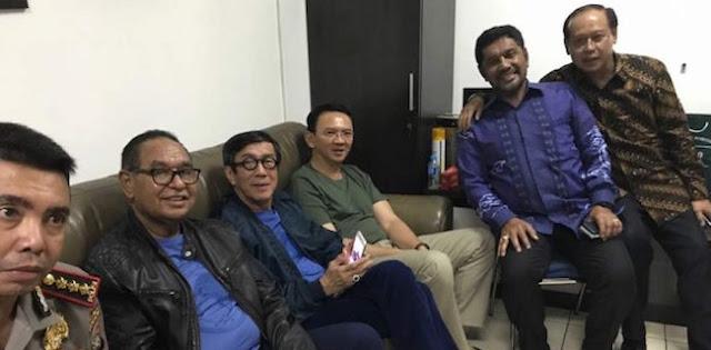 Menkum HAM Kunjungi Ahok di Cipinang, Begini Respon Keras Komnas HAM