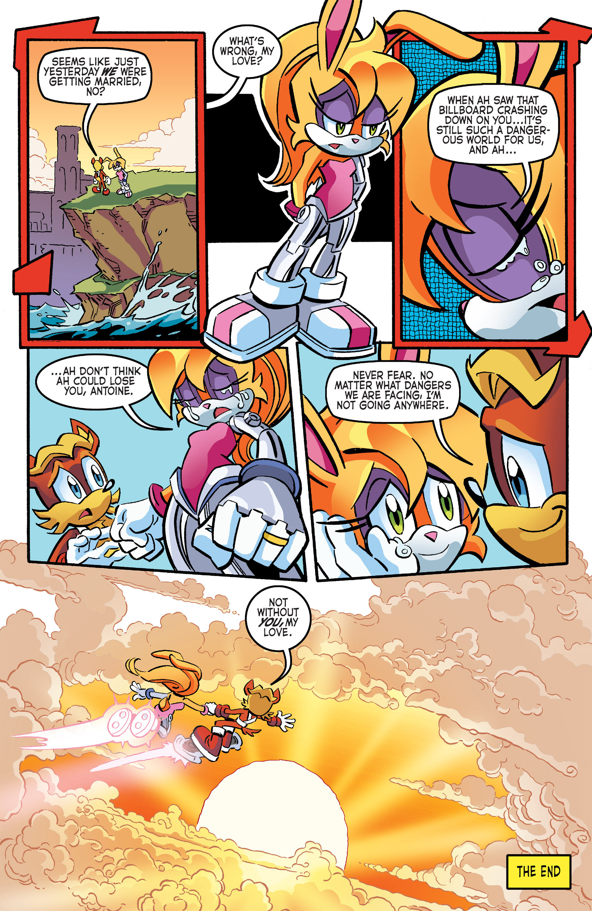 Read online Sonic The Hedgehog comic -  Issue #264 - 22