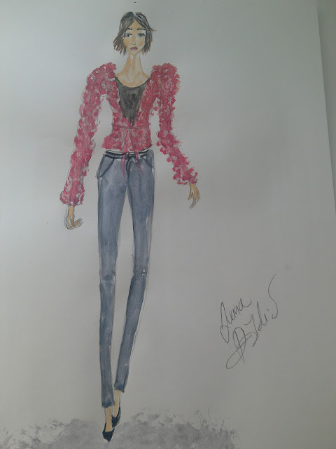#fashionillustration #modnailustracija #ivana