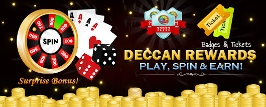Have you checked our Deccan Rewards feature?