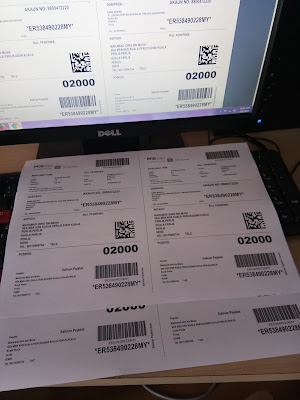 pengalaman pos barang guna shopee free shipping program