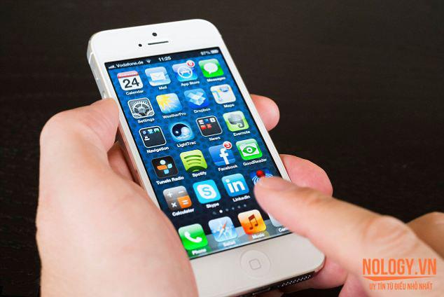 Iphone 5s lỗi cảm ứng