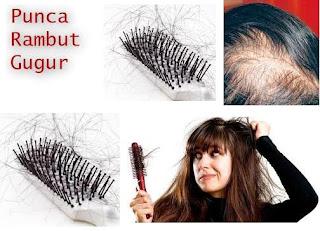 Nak Tahu Tanda Rambut Banyak Gugur