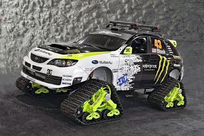 Subaru WRX STI TRAX by Ken Block