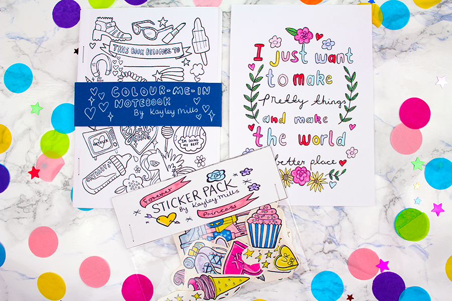 stickers print colouring