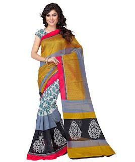 Rs. 399 Bhagalpuri Cotton Silk Saree from Binny Creation