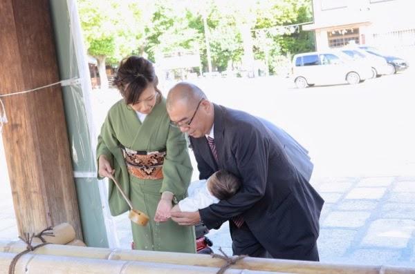 生国魂神社のお宮参り