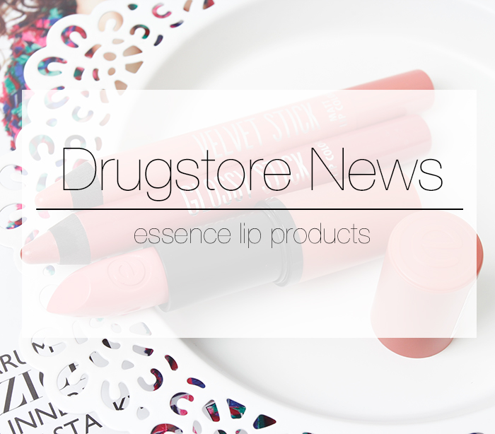 Drugstore News: essence lip products