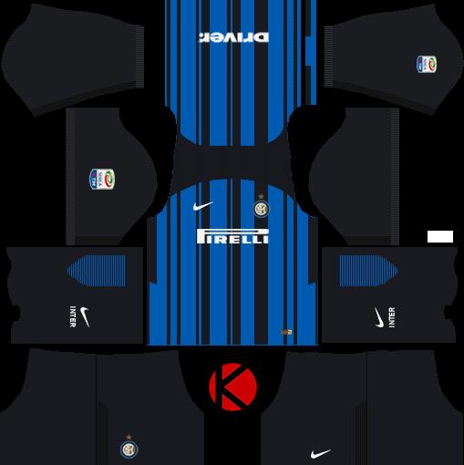 682034f2ba5 Inter Milan Kits 2017 2018 - Dream League Soccer - Kuchalana