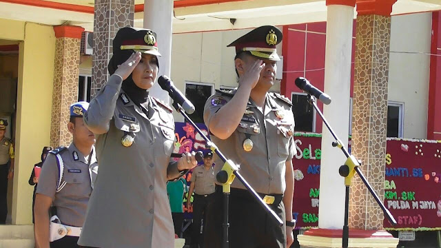 AKBP Andes Purwanti Kapolres Wanita Pertama Di Muba