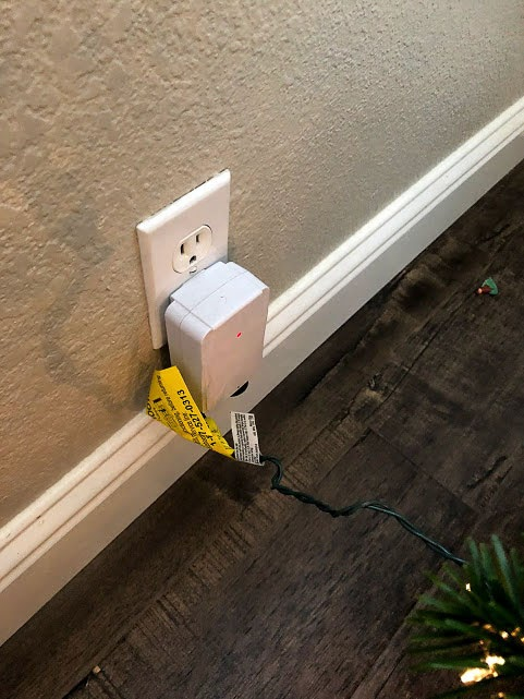 Wireless Remote Light Plug for Christmas Lights