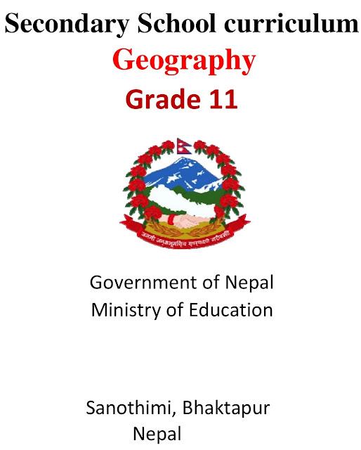 Grade XI NEB Syllabus - Geography