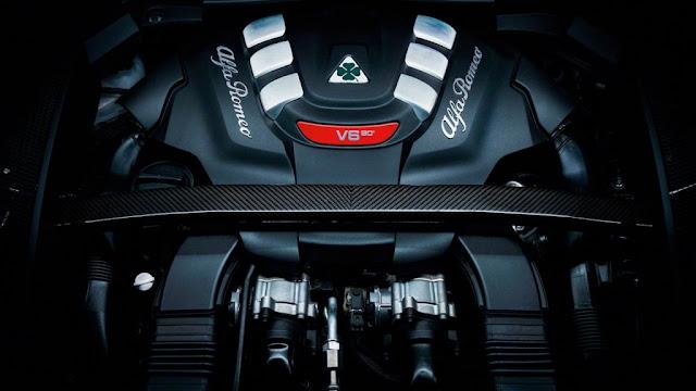 Motor que alcanza los 505 CV