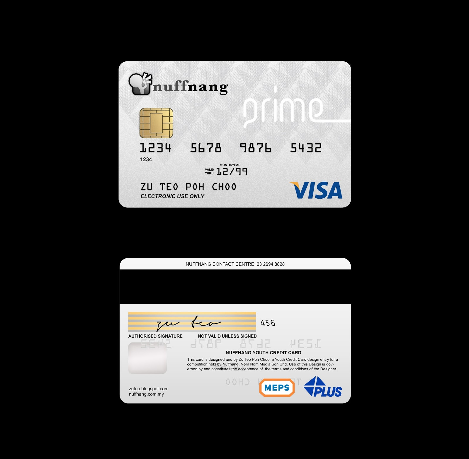 Real Visa Credit Card Numbers Front And Back I'm awesome like that....