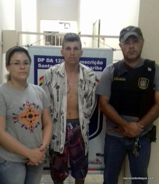 Polícia prende em flagrante, elemento acusado de assassinar mulher a facadas em São Domingos