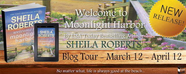 Blog Tour & Review: Welcome to Moonlight Harbor by Sheila Roberts