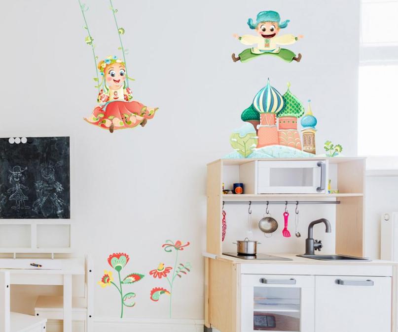 décoration de chambre d'enfants