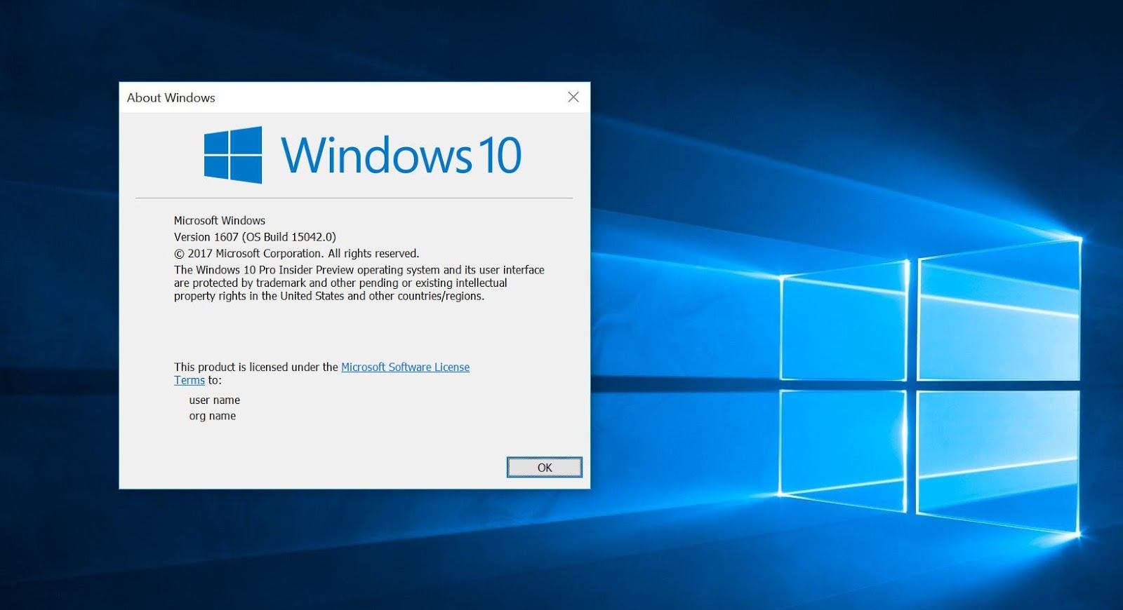 Microsoft rilascia Windows 10 IP Creators Update Build 15042 senza Filigrana né data di scadenza HTNovo