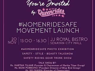 I Support #WomenRideSafe Karena Fakta-Fakta Ini