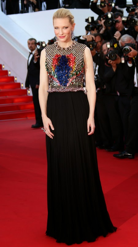 Cate Blanchett in Givenchy, Cannes fashion, Red carpet Fashion 2014, L'Oreal Spokesperson, L'Oreal Ambassador, Celebrity Fashion, Pakistan Fashion Blog, Top Trends 2014