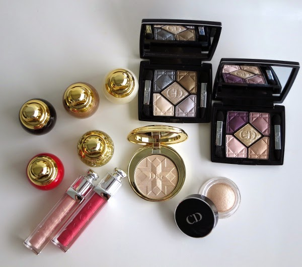 Dior Golden Shock Holiday 2014 Collection