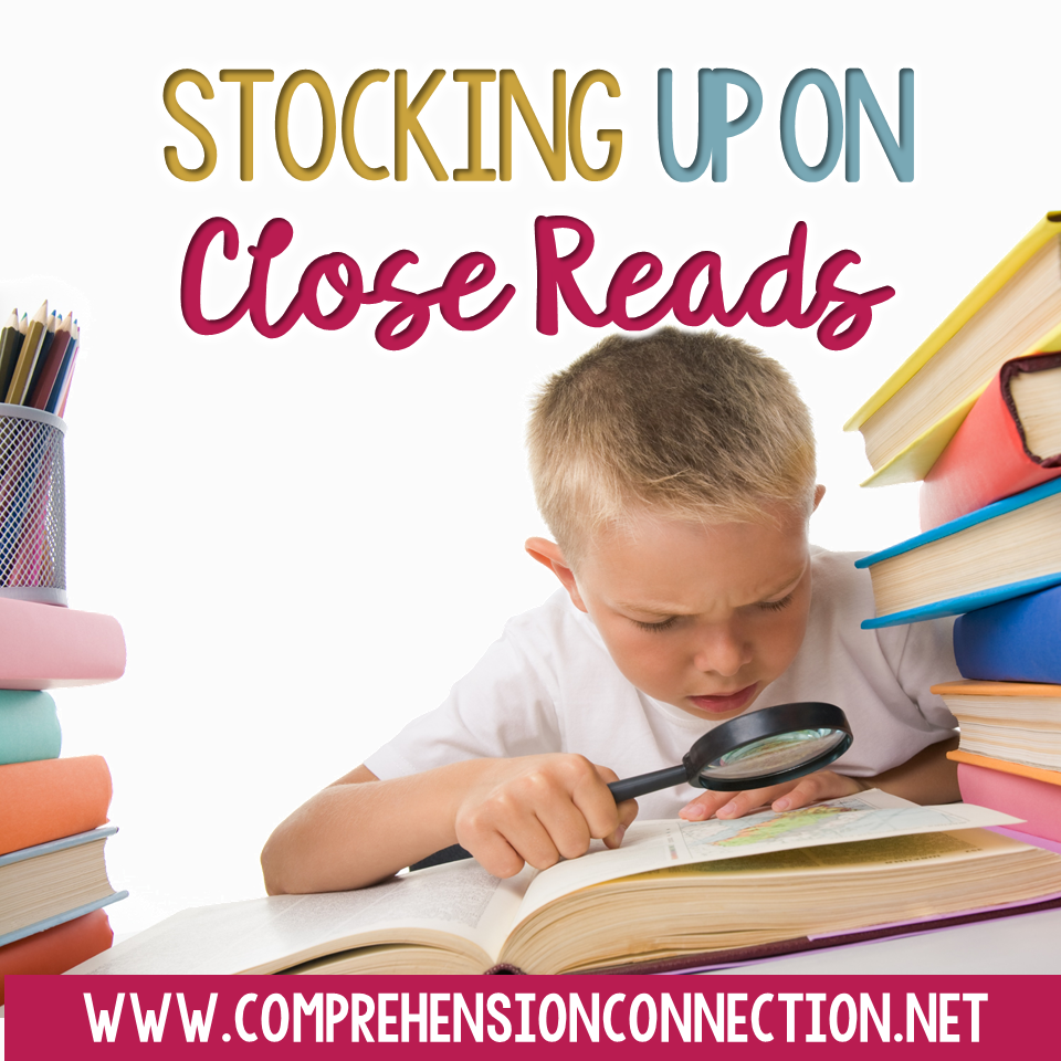 If you enjoy using close reading, this post has a collection of links you'll enjoy for December. Five freebies included.