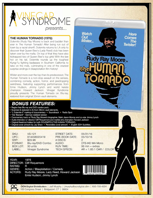 DVD & Blu-ray Release Report, The Human Tornado, Ralph Tribbey