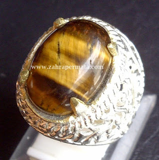 Cincin Batu Permata Tiger Eye - ZP 392