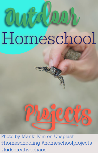 Summer Homeschool Projects to Get Your Kids Outdoors