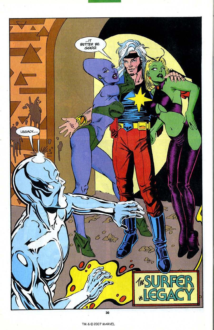 Read online Silver Surfer (1987) comic -  Issue #89 - 32