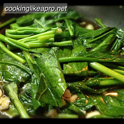Cooking Kai-lan Stir-fry (Chinese Broccoli Recipe)
