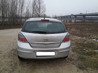 Opel Astra H hatch - rear view