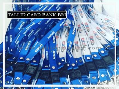 tali id card prinitng bank BRI