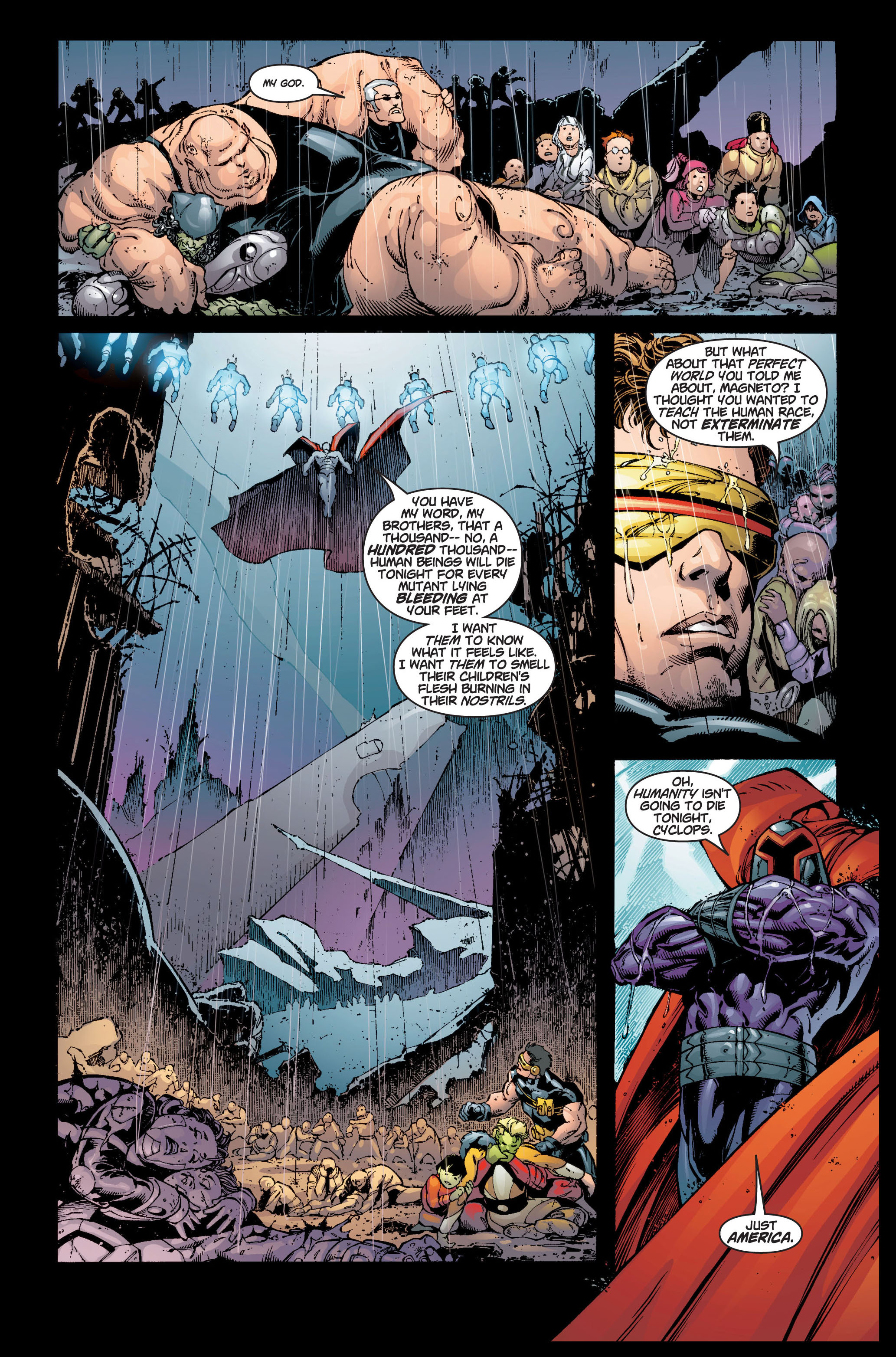 Read online Ultimate X-Men comic -  Issue #5 - 20