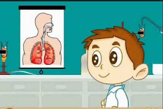 محاور عرض: موضوع التنفس بالمدرسة الابتدائية