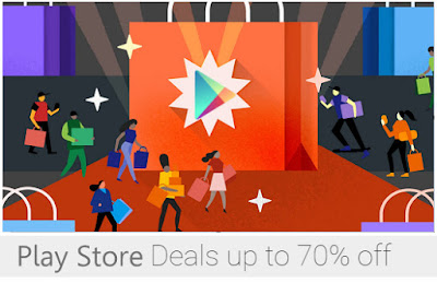 Google Play Store Black Friday Sale Offers : Huge Discount on Apps, Games and Music : Grab it Now