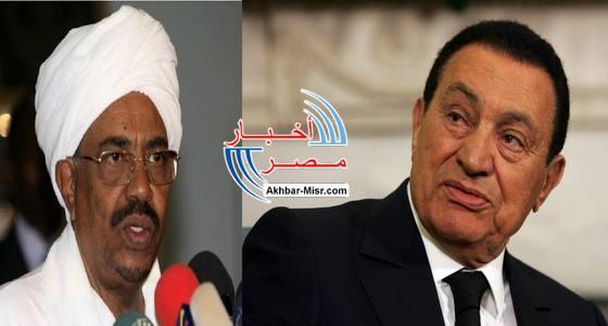 مبارك والبشير