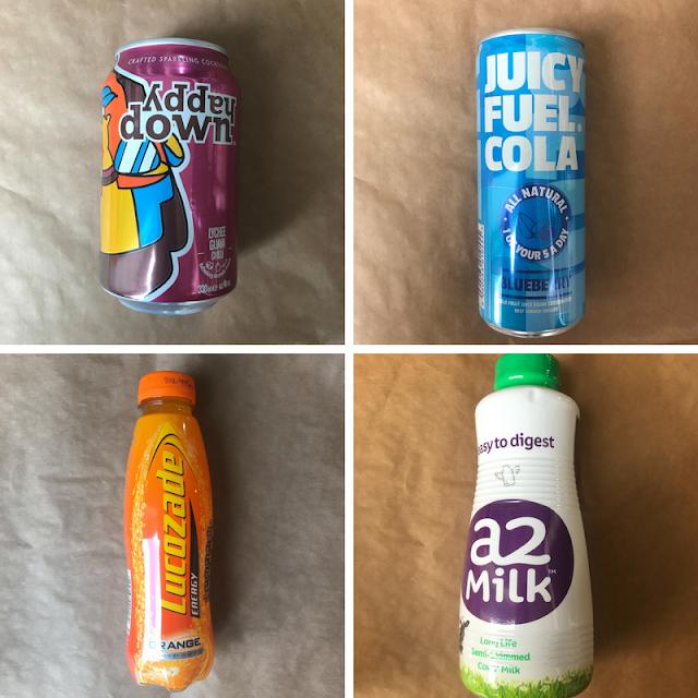 April 2018 Degustabox Contents - Drinks