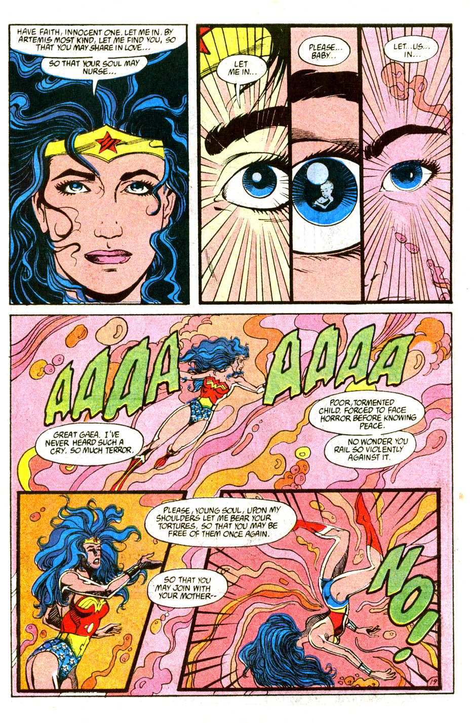 Read online Wonder Woman (1987) comic -  Issue #56 - 21